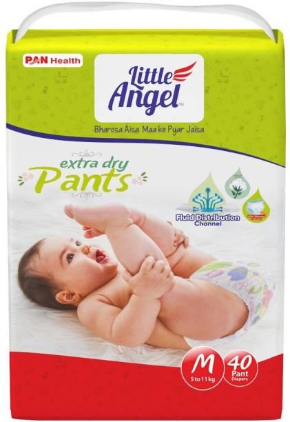 Little Angel Baby Diaper Pants, - M