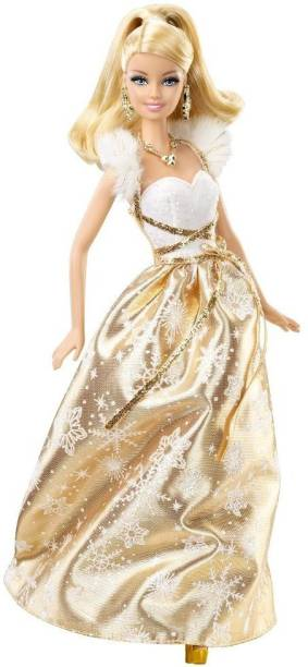 MATTEL Barbie Holiday Wishes Doll
