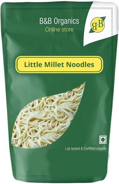 B&B Organics Little Millet Noodles back Instant Noodles Vegetarian