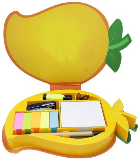DALUCI Eco Friendly Mango Stationery Memo Pad for Office 50 Sheets Regular, 5 Colors