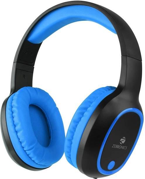ZEBRONICS Zeb-Thunder Wireless Bluetooth Headphone Bluetooth Headset