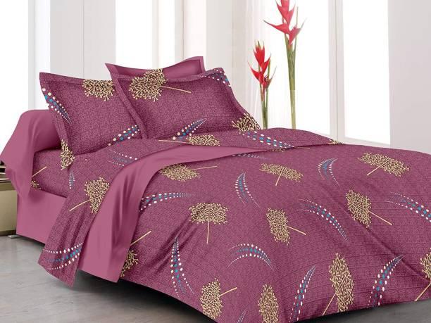 Home Elite 160 TC Cotton Double Paisley Bedsheet