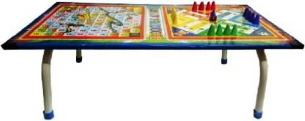 SamayPro Ludo and Snack Table for Kids (Under 3 Year) Play and Grow Board Game Accessories Board Game