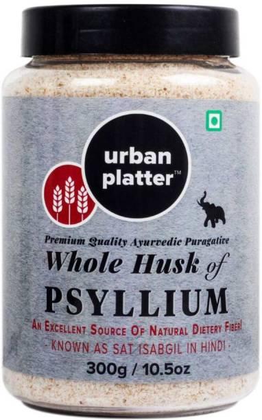 Urban Platter Whole Husk of Psyllium Psyllium Powder