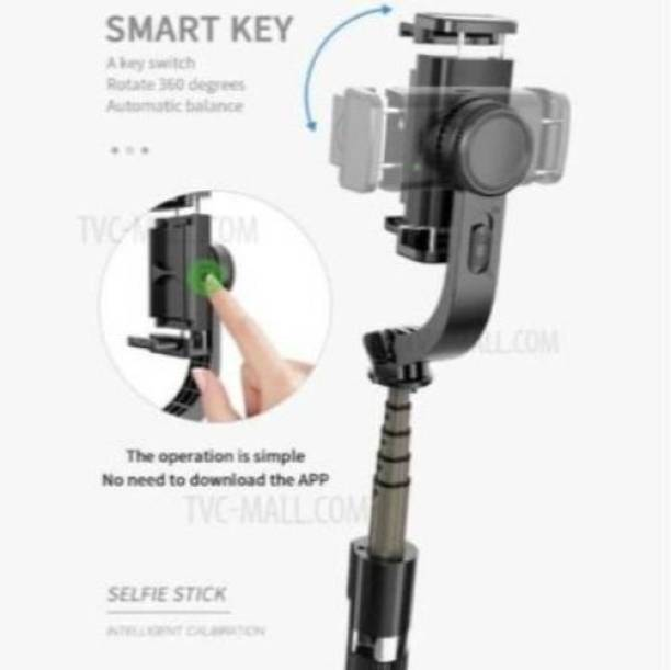 ROAR HEE_441M_ L08 Gimbal Stabilizer iSteady Pro2 3-Axis Stabilizer Handheld Action Camera for\ Hero 7/6/5/4/3 DJI Osmo , Yi Cam 4K, AEE, SJCAM Sports Cams APP Controls for Time-Lapse, Tracking, Auto Panoramas 3 Axis Gimbal Single Gimbal