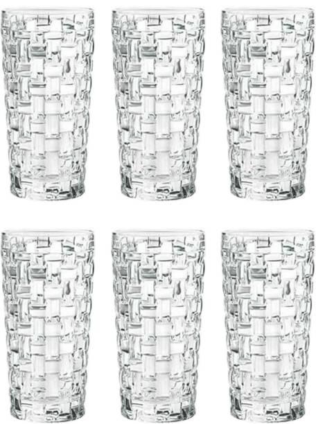 Flipkart SmartBuy (Pack of 6) NEW LOOK MAT GLASS Glass Set