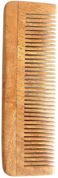 Tora Creations Neem Wood Pocket Comb