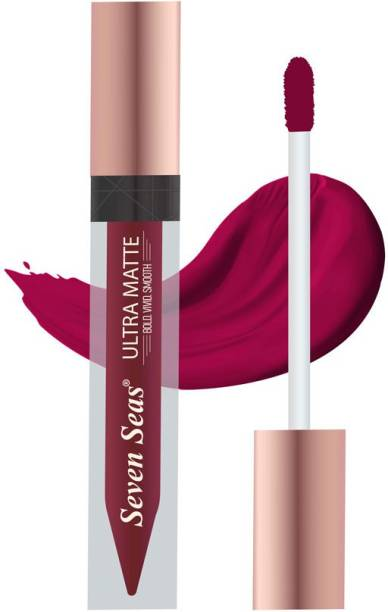 SEVEN SEAS Ultra Matte Liquid Lipstick Rose Bud Cherry