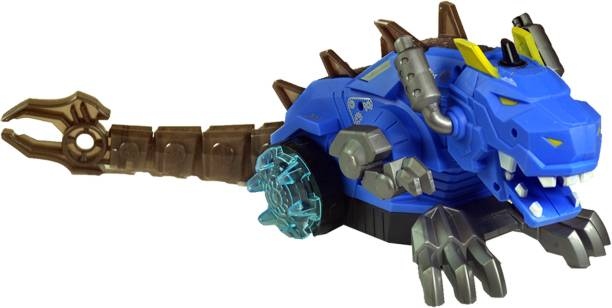 Toy Shack Musical Bump and Go Steam Dragon with flashing lights Toys for Boys and Girls