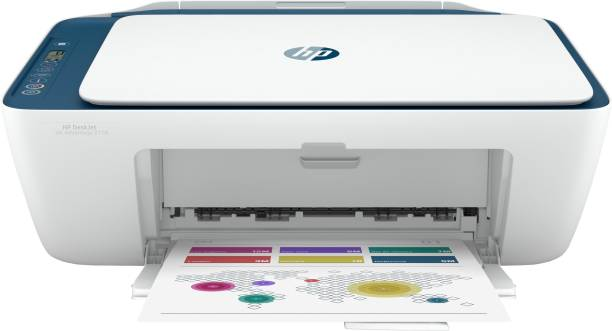 HP DeskJet Ink Advantage 2778 Multi-function WiFi Color Printer with Voice Activated Printing Google Assistant and Alexa