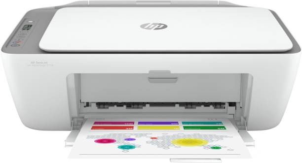 HP DeskJet Ink Advantage 2776 Multi-function WiFi Color Printer with Voice Activated Printing Google Assistant and Alexa