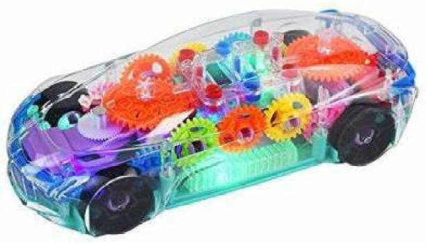 Gift Galaxy 3D Super Concept Racing Educational Transparent Car Toy
