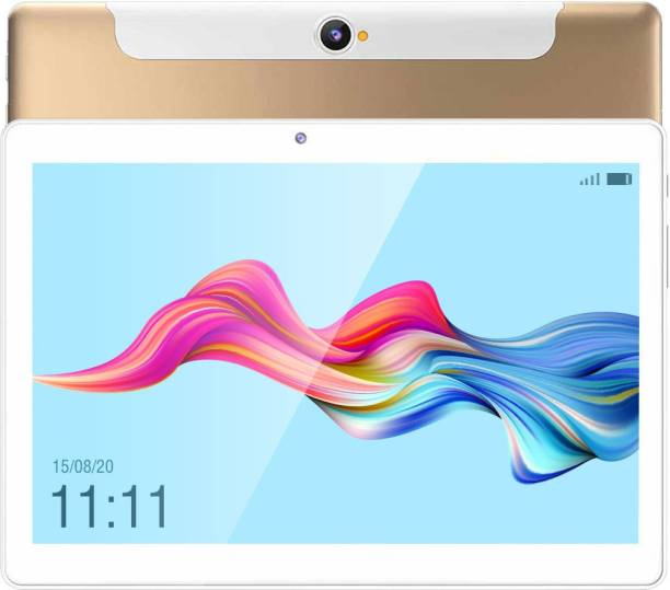 Swipe New Slate 2 3 GB RAM 32 GB ROM 10.1 inches with Wi-Fi+4G Tablet (Gold)