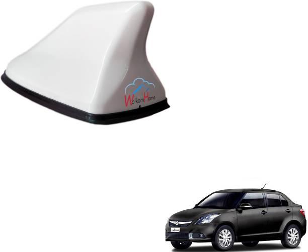 WolkomHome High performance Shark Fin Antenna White color Car FM Radio Signal Aerials for Maruti Suzuki Swift Dzire type-3 Shark_Fin_White_Maruti_Suzuki_Swift_Dzire_type-3 Satellite Vehicle Antenna