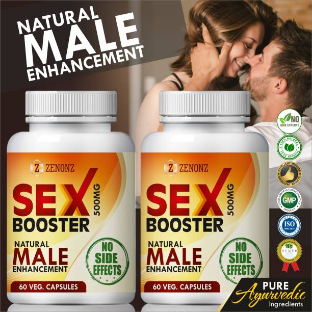 zenonz Sex Booster Capsules For Regulates Hormones & Immune System 100% Natural