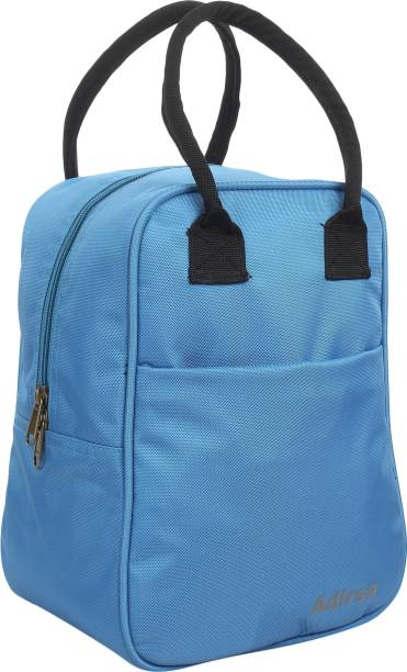 ADIRSA LB4001 LIGHT BLUE Insulated Lunch Bag / Tiffin Bag for Men, Women, Kids, School, Picnic,Work Carry Bag for Lunch Box Waterproof Lunch Bag