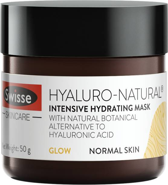 Swisse Skincare Hyaluro-Natural Intensive Hydrating Mask for Supple, Plump and Glowy Complexion