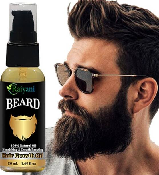 Raiyani Beard Hair Growth Natural Hair Oil 50ml With Natural Ingredients  Hair Oil