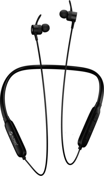 ALPINO Trip Flex Wireless Neckband (18 hours Backup) Bluetooth Headset