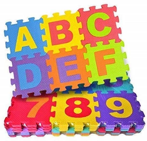 TRENDING CHOICE 36 Pieces Alphabet Floor mats for Kids, Puzzle Foam Mat for Children Above 1 Years