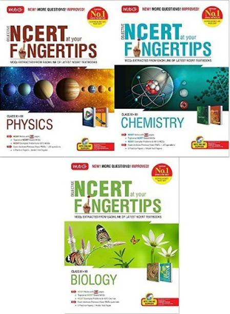 Mtg Objective Ncert At Your Fingertips 3-Book Combo-Set (Biology + Physics + Chemistry ) (2020-2021) (Paperback, MTG EXPEART TEAM)
