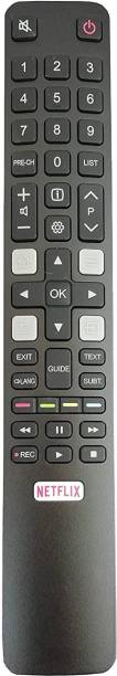 hybite LED LCD Smart TV HD Remote Control Compatible for TCL Netflix tcl Remote Controller