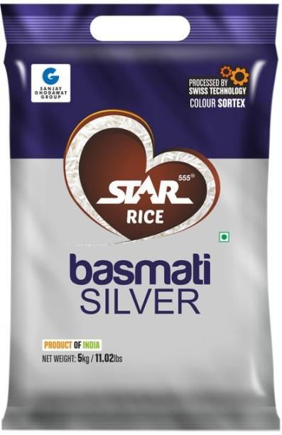 STAR 555 Basmati Silver Rice Basmati Rice (Medium Grain, Steam)