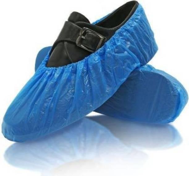 E-Shoppe ESSC_003 PP SHOE COVER PP (Polypropylene) BLUE Flat Shoe Cover