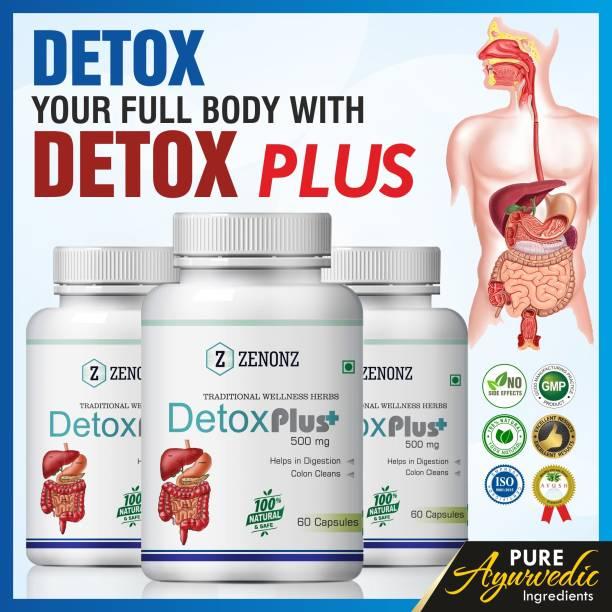 zenonz Detox Plus for body cleanse supplements
