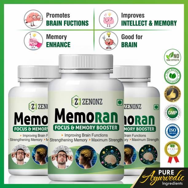 zenonz Memoran for increasing brain power capsules