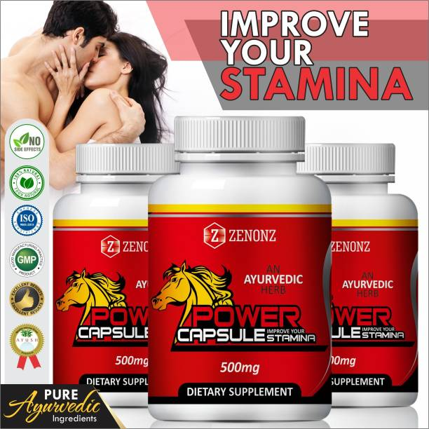 zenonz Power casules Suppliment for incraese stamina 100% pure