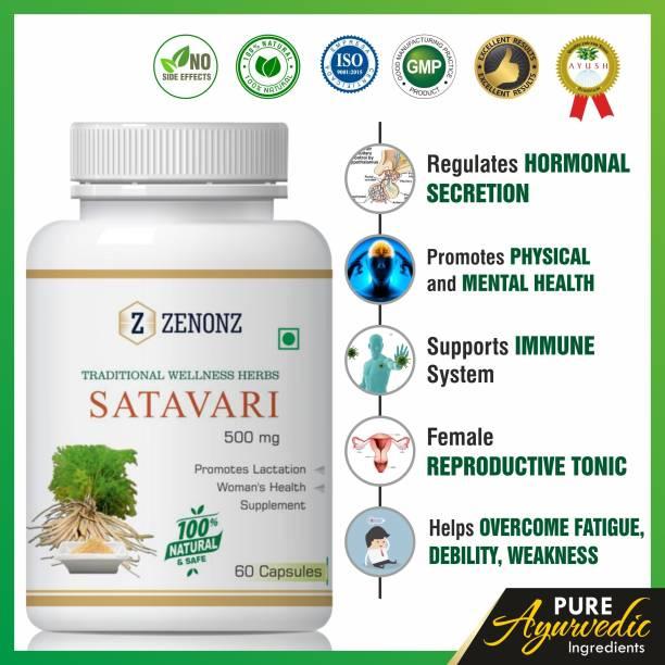zenonz Satavari Pregnant Woman And Increasing Breast Milk 100% Natural