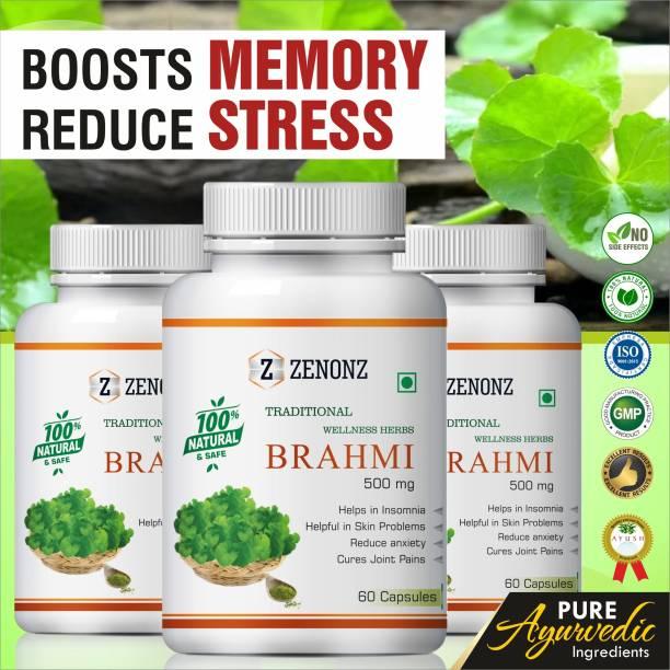 zenonz Brahmi for brain wellness capsules