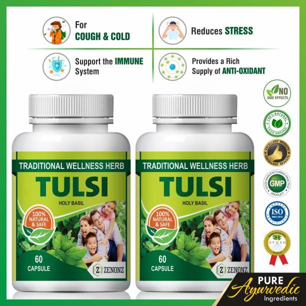 zenonz Tulsi herbal herbs for wellness of immune system 100% Natural