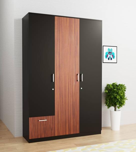 Barewether Engineered Wood 3 Door Wardrobe