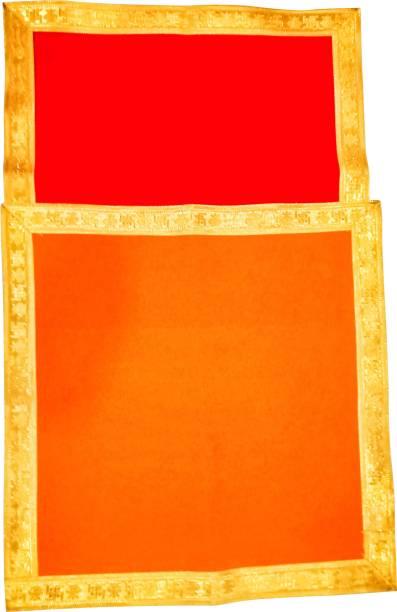 POOJA GHAR Pooja Velvet Aasan for deity Altar Cloth