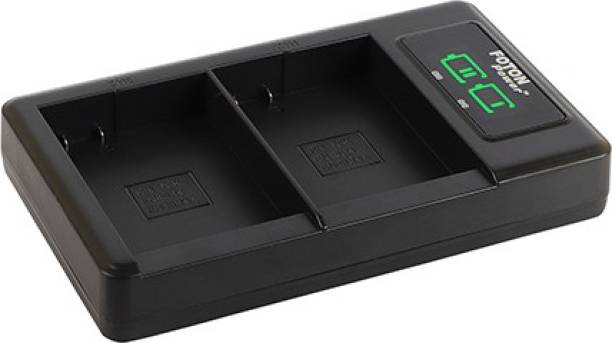 FOTON POWER EL-E14 EN-EL14a LCD Dual USB Digital Battery Charger D3100 D3200 D3300 P7100 P7200 P7800 D and P Series  Camera Battery Charger