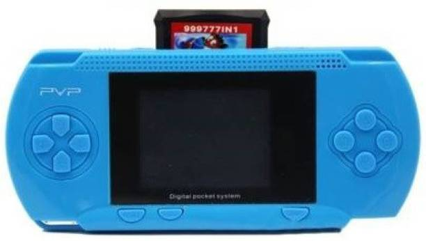 Clubics Best PVP Ga ng Console for Kids-PVP(Blue) 1 GB with SUPER MARIO