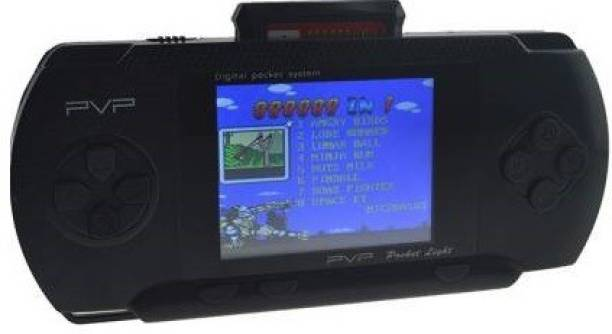 Clubics PVP BLACK COLOR, LCD DISPLAY HANDHELD GAME CONSOLE-PVP 1 GB with SUPER MARIO