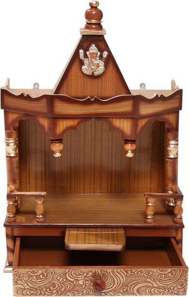 Vishwakarma Furniture Engineered Wood Home Temple