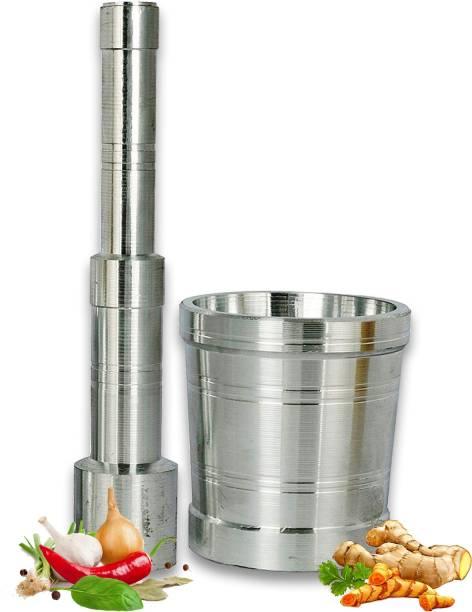 Best Quality Hub Aluminium masher high Quality Kitchen Khalbatta Okhli Masher Aluminium Masher