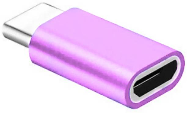 Sharp beak Pink USB Type C Adapter,Micro USB to USB C Adapter, Data Syncing and Charging Adapter Phone Converter