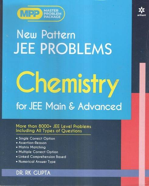 Arihant New Pattern Jee Problems Chemistry For Jee Main & Advanced 2020-2021