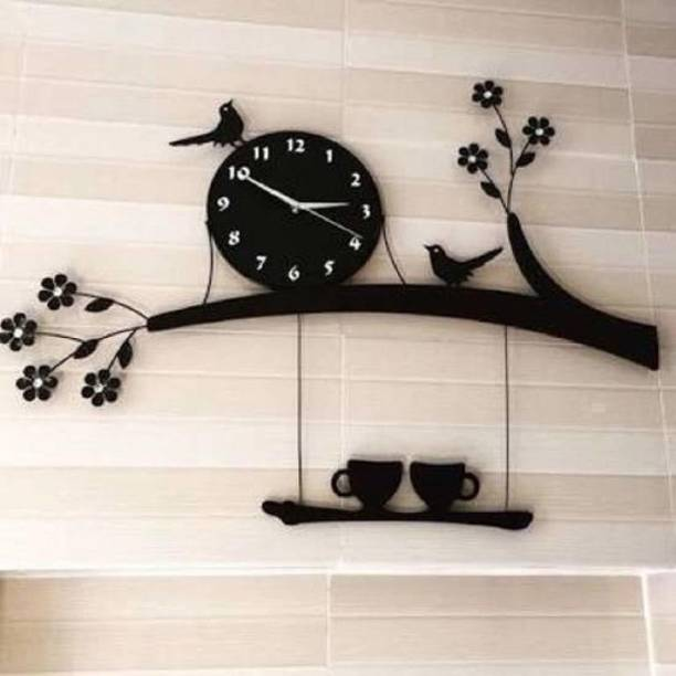 Mysticoal Analog 30 cm X 30 cm Wall Clock