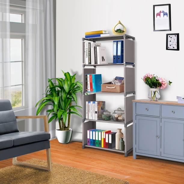 FURIONE 5 LAYER GALAXY Metal Open Book Shelf