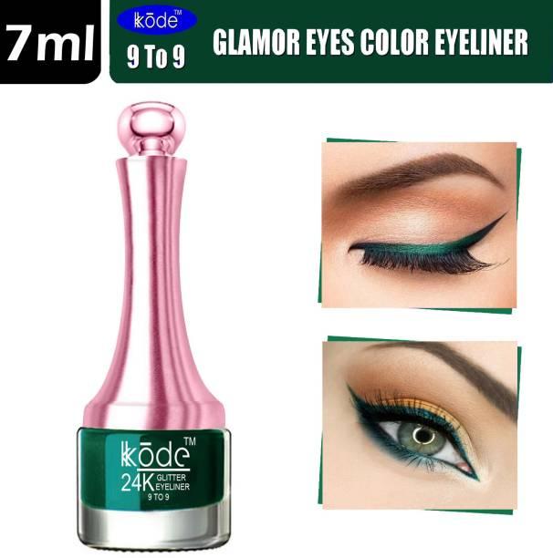 kKode 9 TO 9 Waterproof & Long Lasting Glamour Eyes Color Eyeliner 5.5 ml