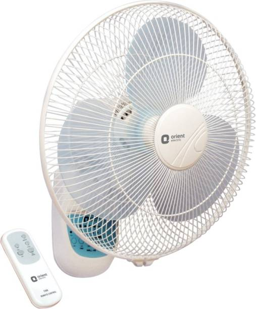 Orient Electric Orient wall 49 with remote 400 mm Silent Operation 3 Blade Wall Fan