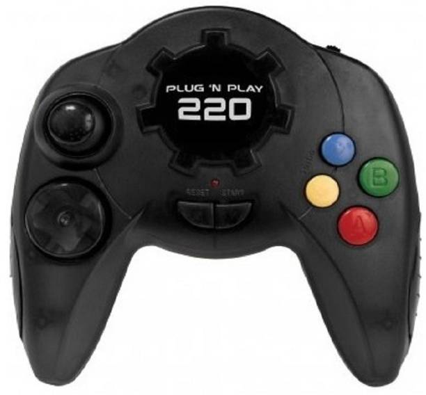 Clubics PLUG N PLAY TV GAME CONSOLE: 220 VIDEO GAME 1 GB with MARIO