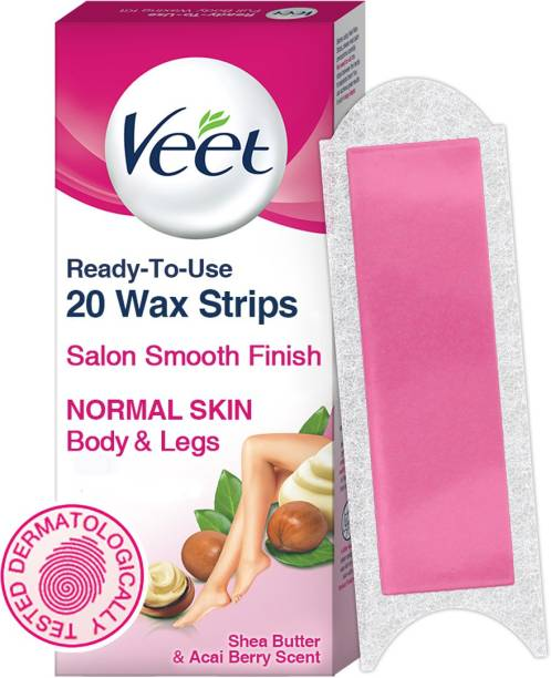 Veet Full Body Waxing Kit Normal Skin Strips