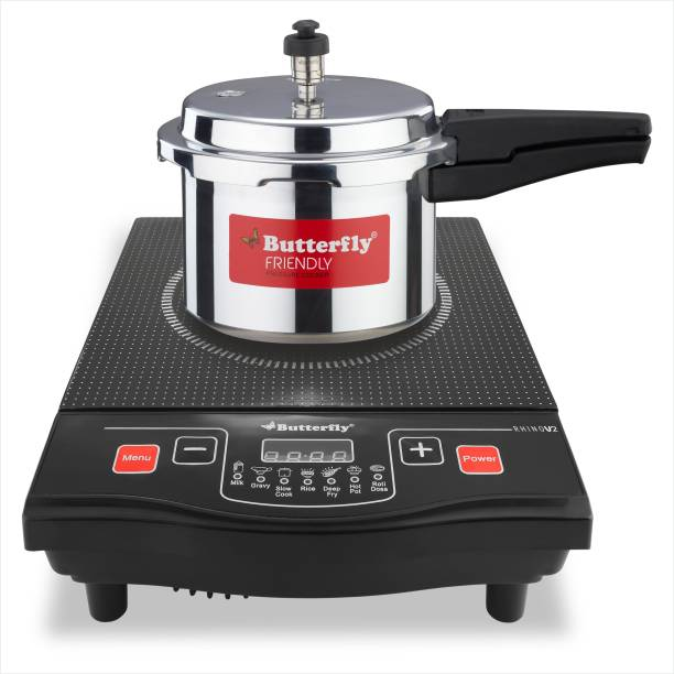 Butterfly Rhino V2 + 3L Pressure Cooker Induction Cooktop